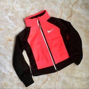 Nike Florescent Pink/Black Track Jacket, 2T